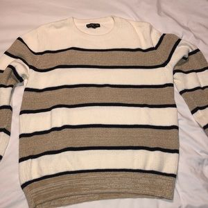 Express Mens sweater EUC stripped fashion